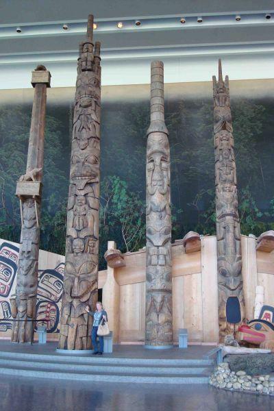 Musée des civilisations à Ottawa