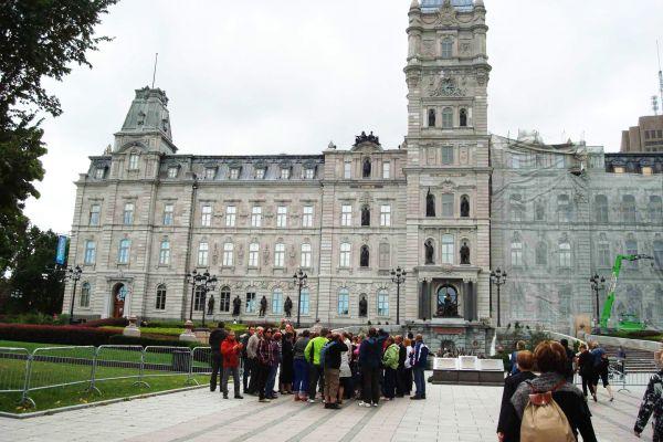 Un bâtiment public à Québec