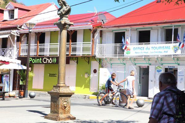Le centre ville des Saintes - L'office de tourisme