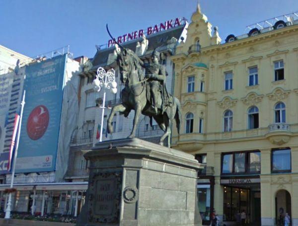 Statue de la place Ban-Jelačić