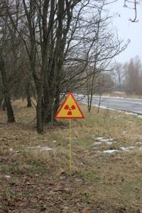 Panneau radioactivité