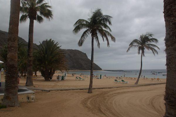 La plage de Las Teresitas