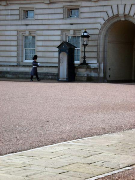 Garde impériale Buckingam Palace