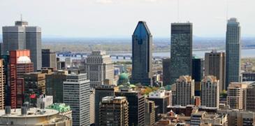 Découvrir la ville de Montréal, QC