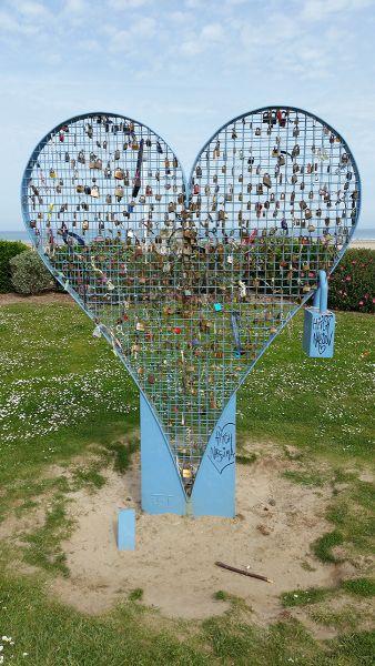 Deauville - Le Jardin des Coeurs