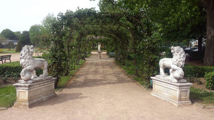 Honfleur - Jardin des personnalités