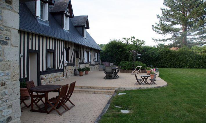 La longère en Normandie chambre d'hôtes