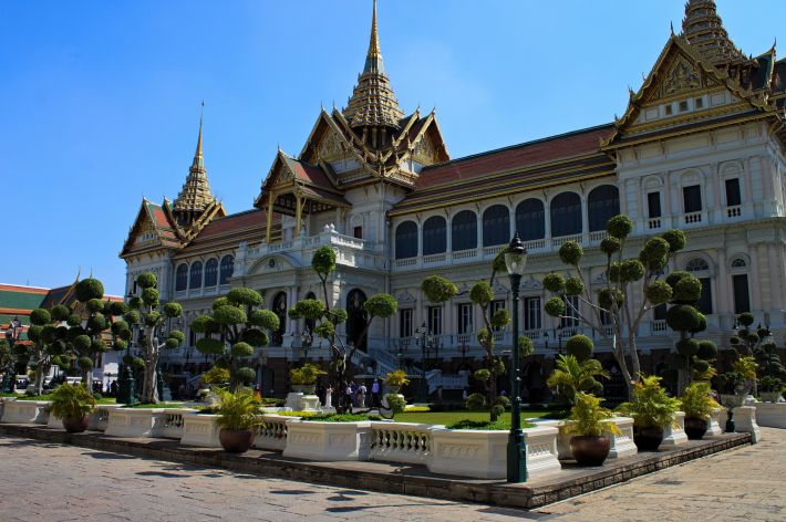 Palais Royal à Bangkok (crédit photo)