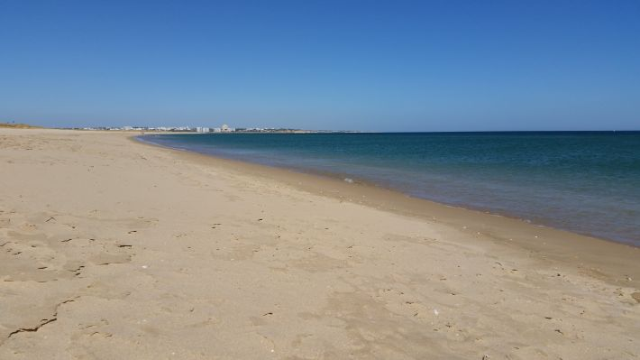 Meia Praia (Plage Lagos - Algarve - Portugal)
