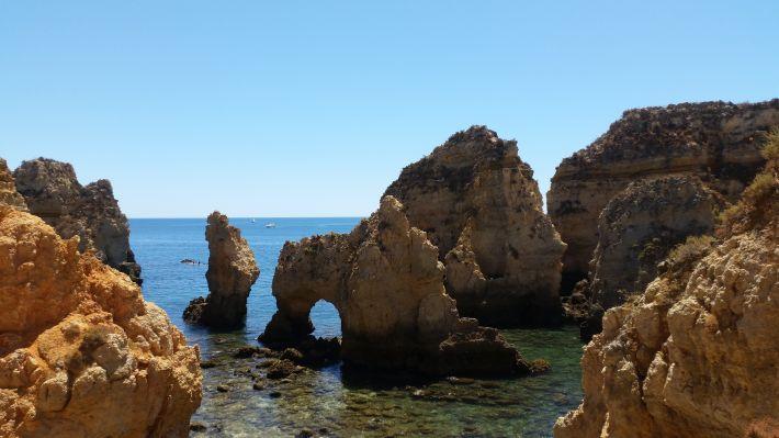 Ponta da Piedade (Plage Lagos - Algarve - Portugal)
