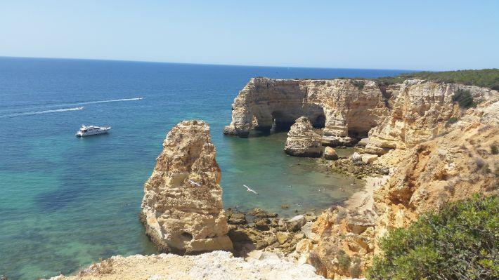 Praia da Marinha (Plage Carvoeiro - Algarve - Portugal)