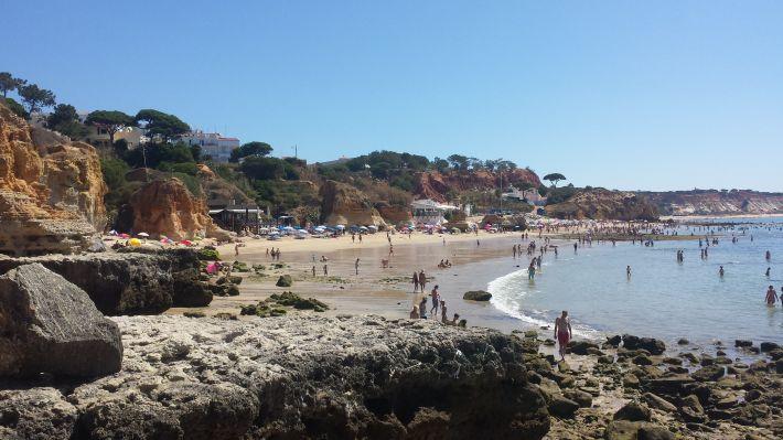 Praia de Olho d'Agua (Plage - Algarve - Portugal)