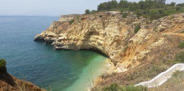 Praia do Paraiso (Plage de Carvoeiro - Algarve - Portugal)