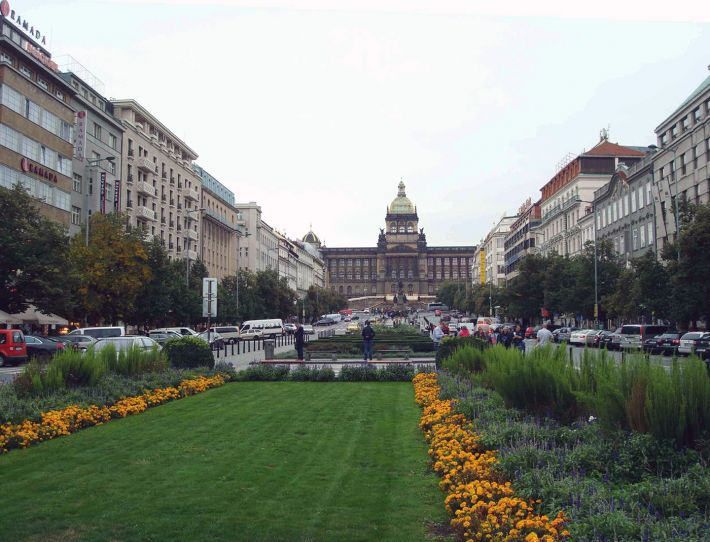 Prague - Place Venceslas