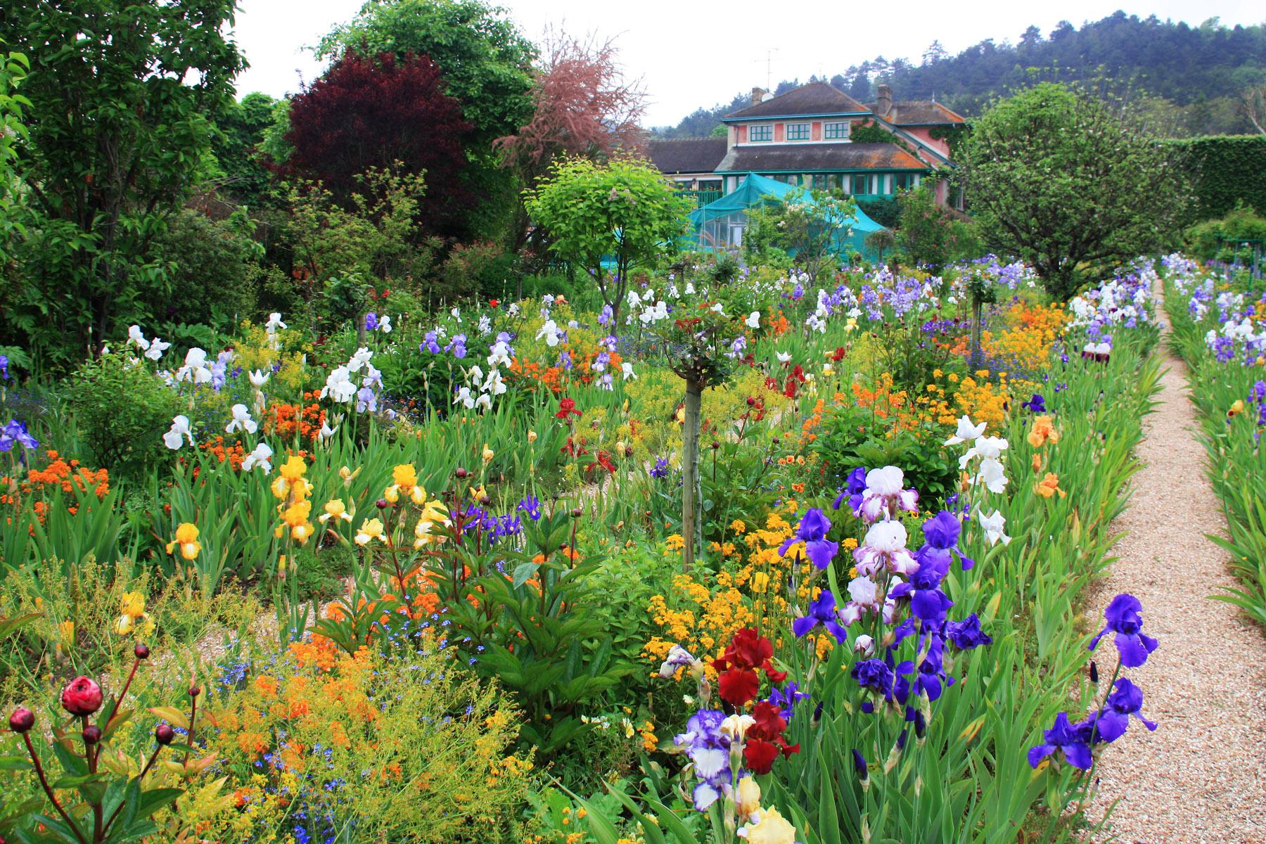 Une promenade dans les jardins de giverny for Le jardin aux epilobes