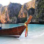 Bateau à Koh Phi Phi